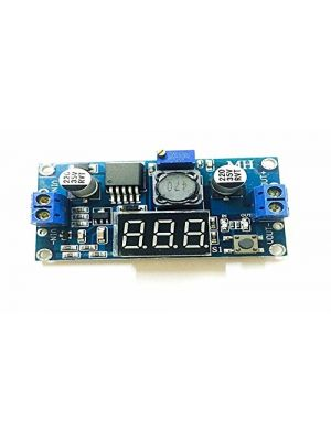 LM2596 LM2596S DC-DC Adjustable Buck Step Down Power Supply Module - with LED Voltmeter digital display