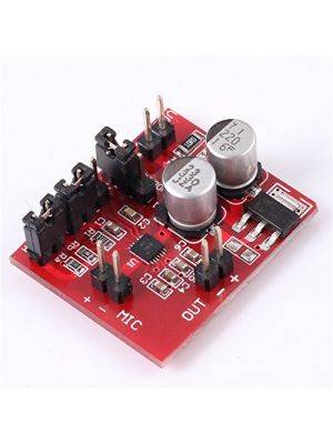 MAX9814 Electret Microphone Amplifier Board with AGC Function - DC 3.6V-12V - 30mm x 25mm