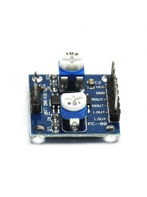 PAM8406 2 x 5W - 2 Channels 5W dual channel stereo mini Class D Digital Audio Power Amplifier Board USB DC 5V - with Volume Control Potentiometer