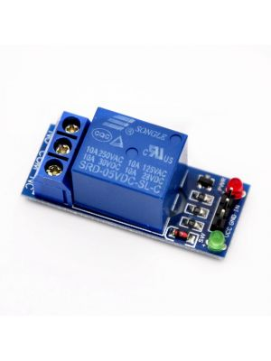 Single Channel Relay Module - for SCM Household Appliance Control - 5V (Low Level)