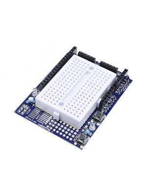 Prototype Shield Expansion Board - with SYB-170 Mini Breadboard Base - for Arduino UNO Proto Shield