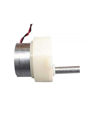 5RPM 18mm 6V Slow Speed Micro Turbo Gear Motor - Micro 300 Gearbox Speed Reduction Motor – M3 Thread Shaft 18mm – DC 3V-9V 5 rpm