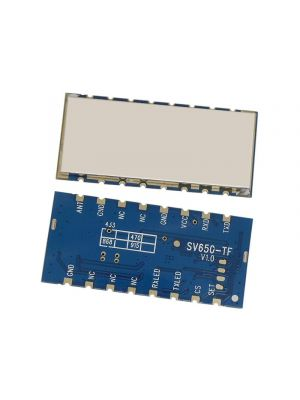 SV650-TF 400mW  CE Certified Small Size Embedded Wireless Transceiver Data Transmission Module