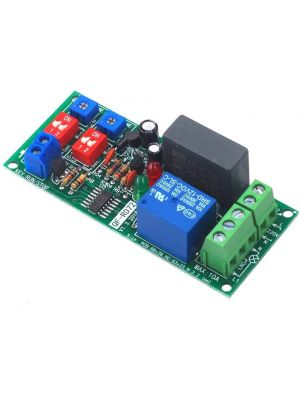 Dual on and off Time Delay Adjustable relay Switch - Infinite Loop Timer Timing Cycle Control Module