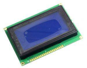 LCD Display Module LCM12864J 128x64 Dots Graphic 5V Blue Color Backlight White Font KS0107 KS0108 Compatible Controller