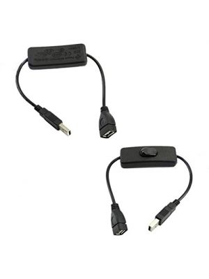 USB Cable With ON/OFF Switch Toggle Power Control For Arduino Raspberry Pi