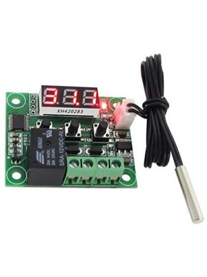 W1209 LED Digital Thermostat/Temperature/Thermo Controller Switch Module DC 12V Waterproof NTC Sensor