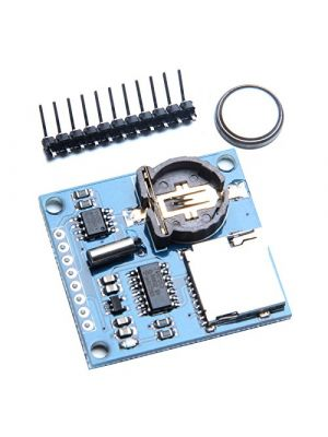 Data Logger Module for Arduino Data Logging Recorder Shield - With SD CARD SLOT and Battery (Included)