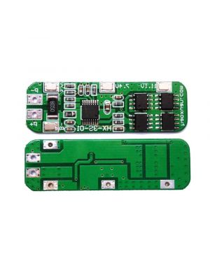 3S 6A 10.8V to 12.6V Battery Charging Module PCB BMS Protection Board