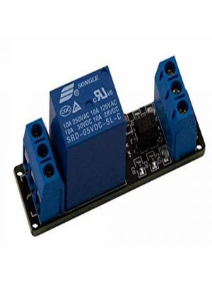 1 Channel 5V 10A Relay Module WITH OPTOCOUPLER - AC and DC Appliance Control - for Arduino DSP AVR PIC ARM