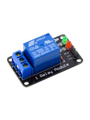 Single Channel Relay / 1 Ch Relay Module - For SCM Household Appliance Control - 5V (WITHOUT OPTOCOUPLER)
