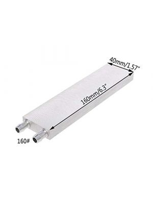 Aluminium 160MM Long Water Cooling Block - 160x40x12mm Liquid Cooler Waterblock Radiator - for GPU CPU Cooling heatsink