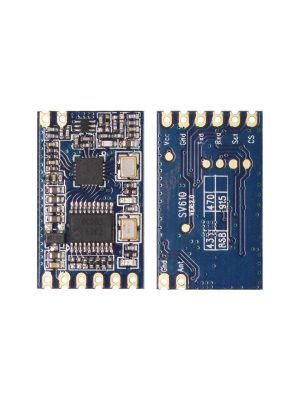 SV610-Mesh -SI4432 Smart repeater -TTL Interface-100mW Embedded Mesh Network Module