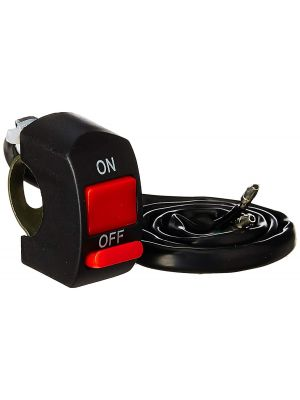 Accident Hazard Light Double Control Switch Button Handle Bar
